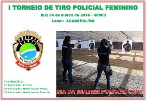 Torneio de Tiro Policial Feminino