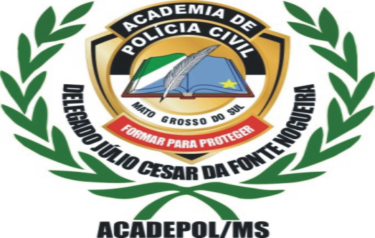 Academia de policia civil Delegado Júlio Cesar da Fonte Nogueira. Acadepol/ M - S